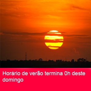 HORÁRIO DE VERÃO2