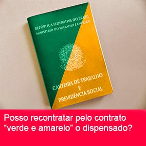 CONTRATO DE TRABALHO VERDE E AMARELO