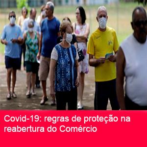PROTEÇÃO CONTRA A COVID