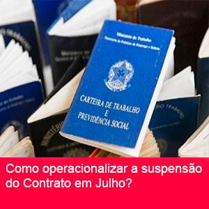SUSPENSÃO DO CONTRATO DE TRABALHO